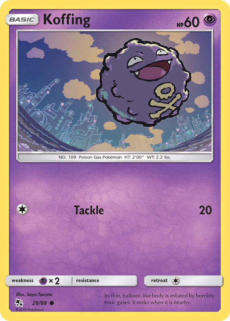 28/ 68 Koffing - Common