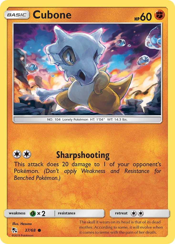 37/ 68 Cubone - Common