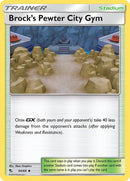 54/ 68 Brock's Pewter City Gym - Uncommon