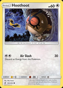 165/ 236 Hoothoot - Common Reverse Holo