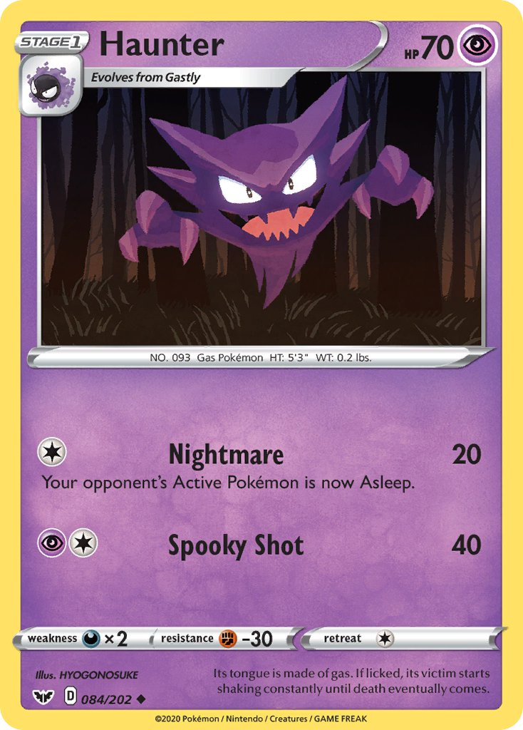 084 / 202 Haunter - Uncommon