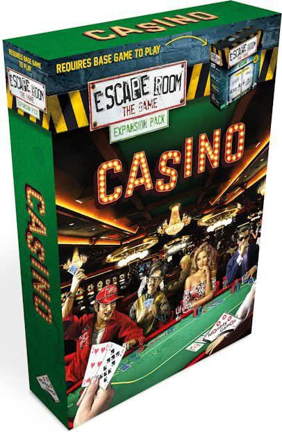 Escape Room the Game Casino Expansion Pack