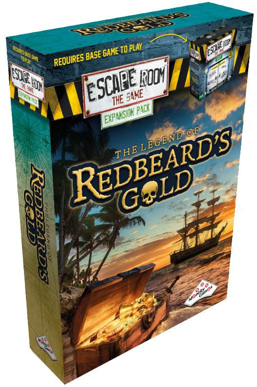 Escape Room The Game - The legend of Redbeards Gold