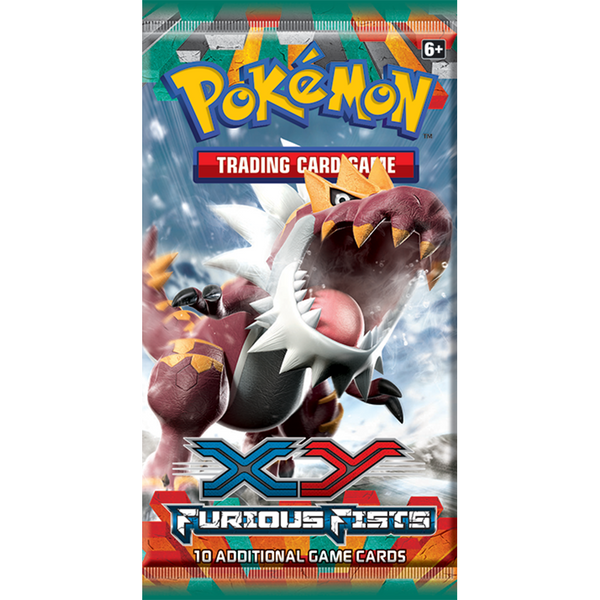 Pokemon - TCG - Furious Fists Booster Pack Options