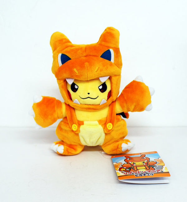 Pokemon Center Original Japanese - Charizard-Maniac Pikachu Plush