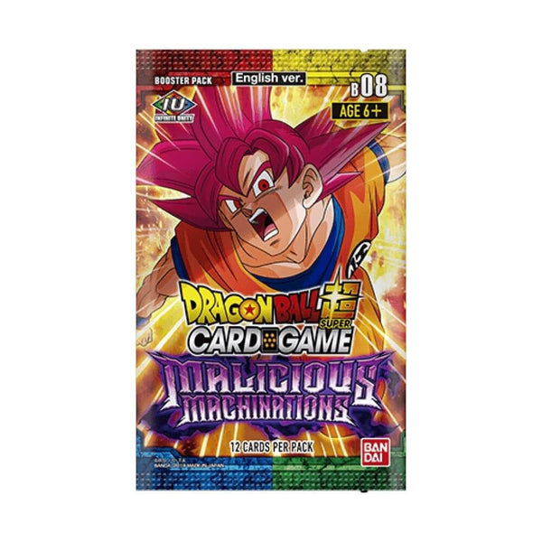 Dragon Ball Super Card Game Series 8 Malicious Machinations Booster Box