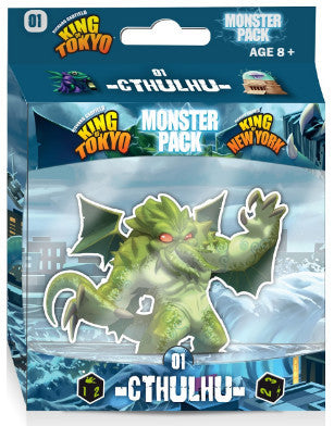 King of Tokyo Monster Pack - 01 Cthulhu