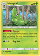 003 / 214 Metapod - Common