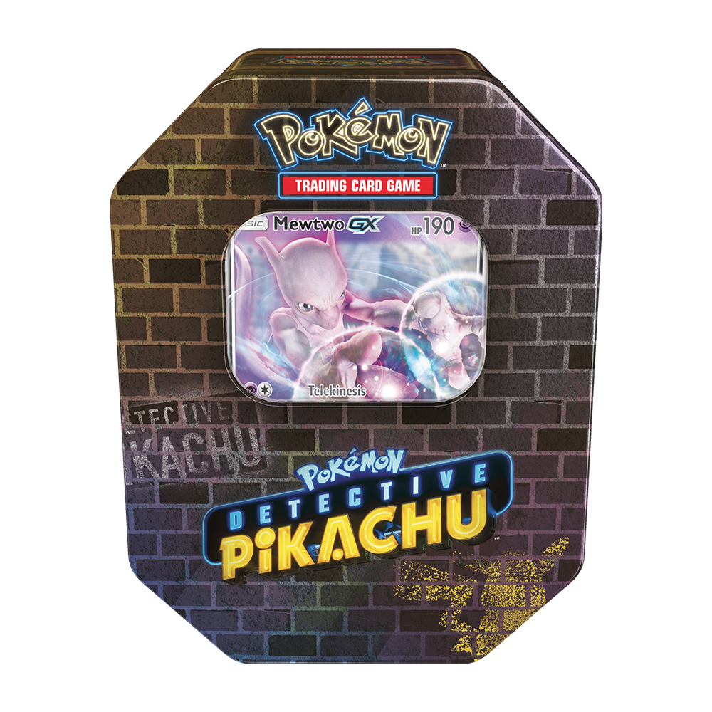 Pokemon - TCG - Detective Pikachu Collector Tin