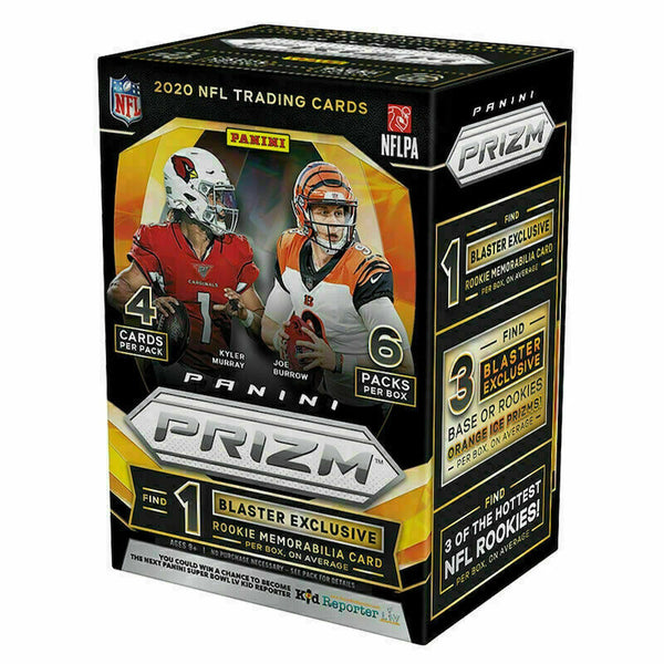 PANINI NFL 2020 Prizm Football Blaster Box