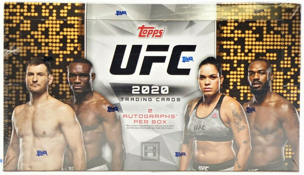 TOPPS 2020 UFC HOBBY Trading Card Box Options