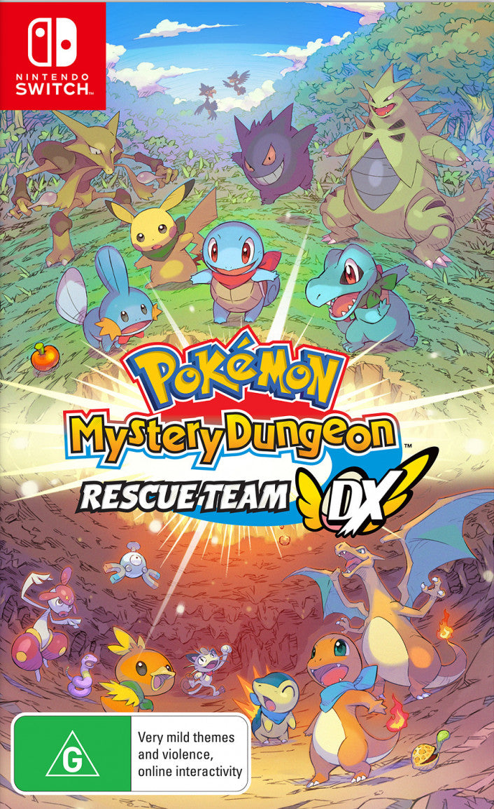 Nintendo Switch - Pokémon Mystery Dungeon: Rescue Team DX
