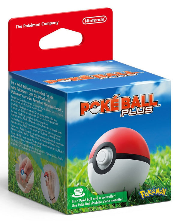 Pokemon Let's Go, Pokeball Plus