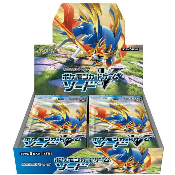 Pokemon Japanese - TCG - SW1 Sword Booster BOX