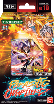 Dragon Ball Super Card Game - 10 Malicious Machinations Parasitic Overlord Starter Deck