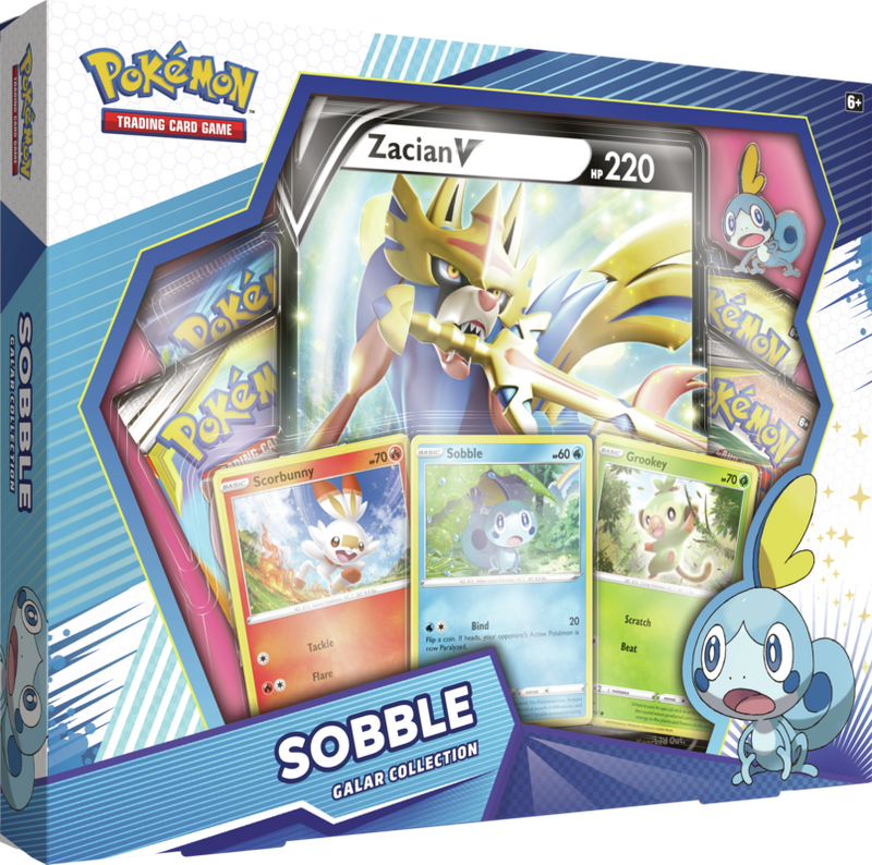 Pokemon - TCG - Galar Collection Box - Sobble & Zacian