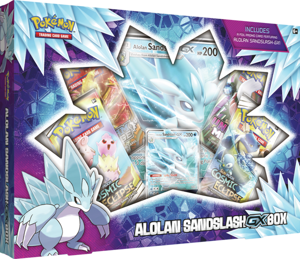 Pokemon - TCG - Alolan Sandslash - GX Collection Box