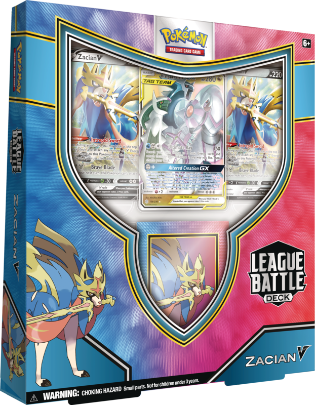 Pokemon - TCG - Zacian V League Battle Deck
