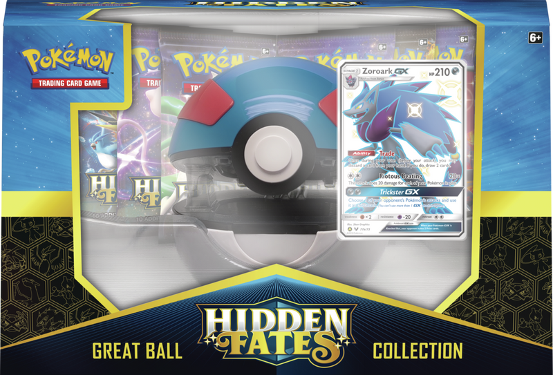 Pokemon - TCG - Hidden Fates PokeBall Collection