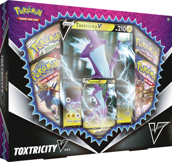 Pokemon - TCG - Toxtricity V Box