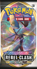 Pokemon - TCG - Rebel Clash Booster Pack Options