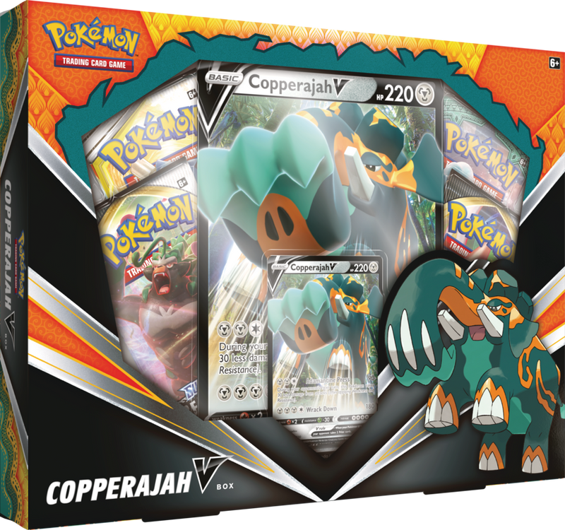 Pokemon - TCG - COPPERAJAH V BOX