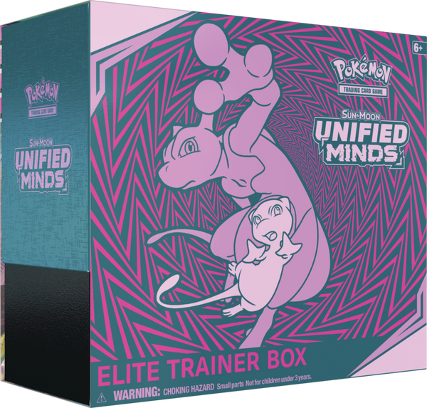 Pokemon - TCG - Unified Minds Elite Trainer Box Options