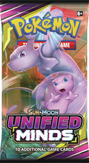 Pokemon - TCG - Unified Minds Booster Pack Options
