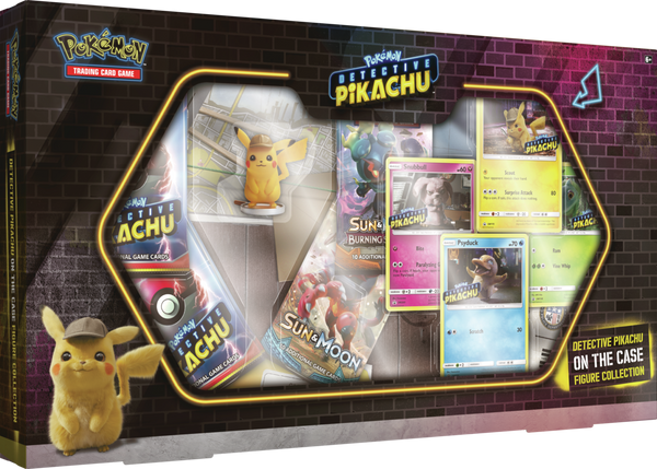 Pokemon - TCG - Detective Pikachu On The Case Figure Collection