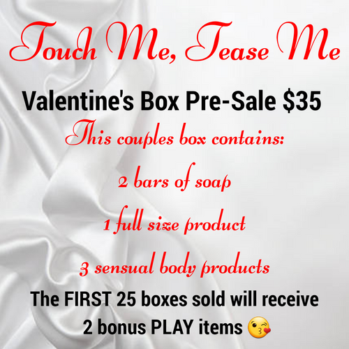 Touch Me, Tease Me Valentine's Box