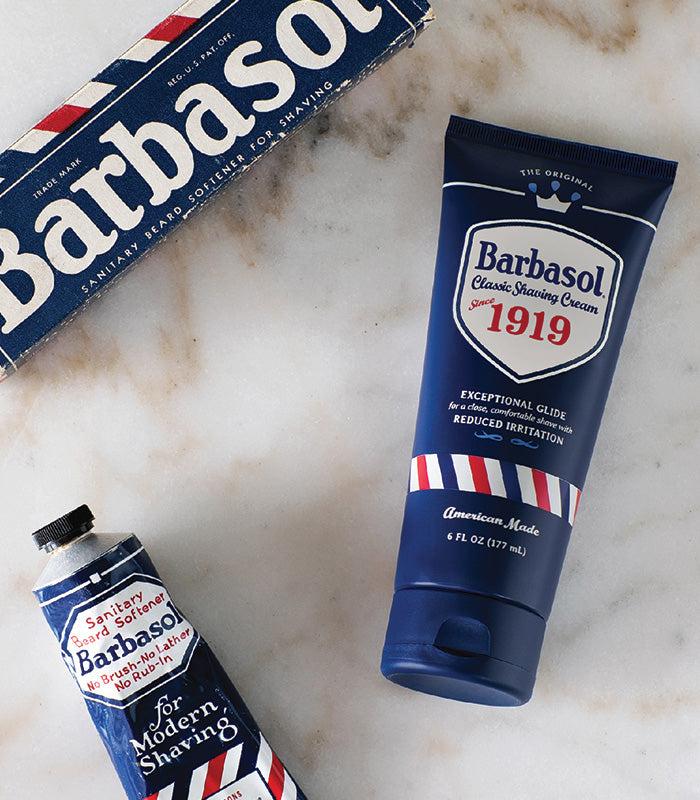 100 Years of Shaving Cream Experience Refined to This