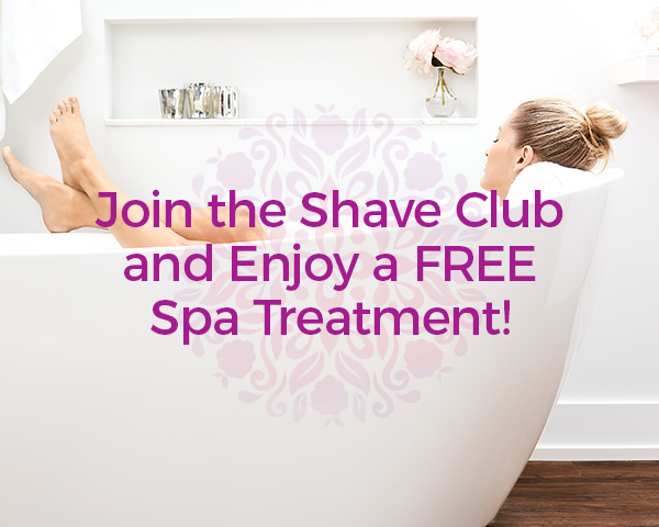 Pure Silk Shave Club Free Spa Treatment