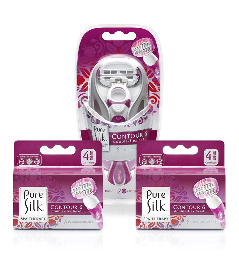 Pure Silk Contour 6 Value Pack