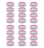 Pure Silk Contour 6 Razor Blade Cartridge Refills, 24 Count (6-12 Month Supply*)