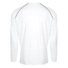 TSHELL MENS WHITE with CONTRAST STITCH