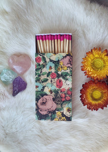 'Adorable Floral' Ritual Matchbox