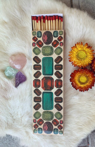 Large 'Gemstone' Ritual Matchbox