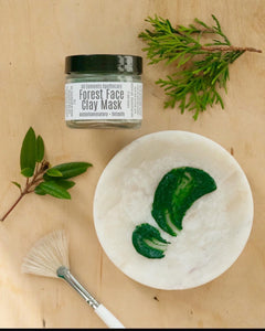 Forest Face Clay Mask