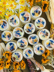 'Blue Moon Samhain' Mini Soy Candle