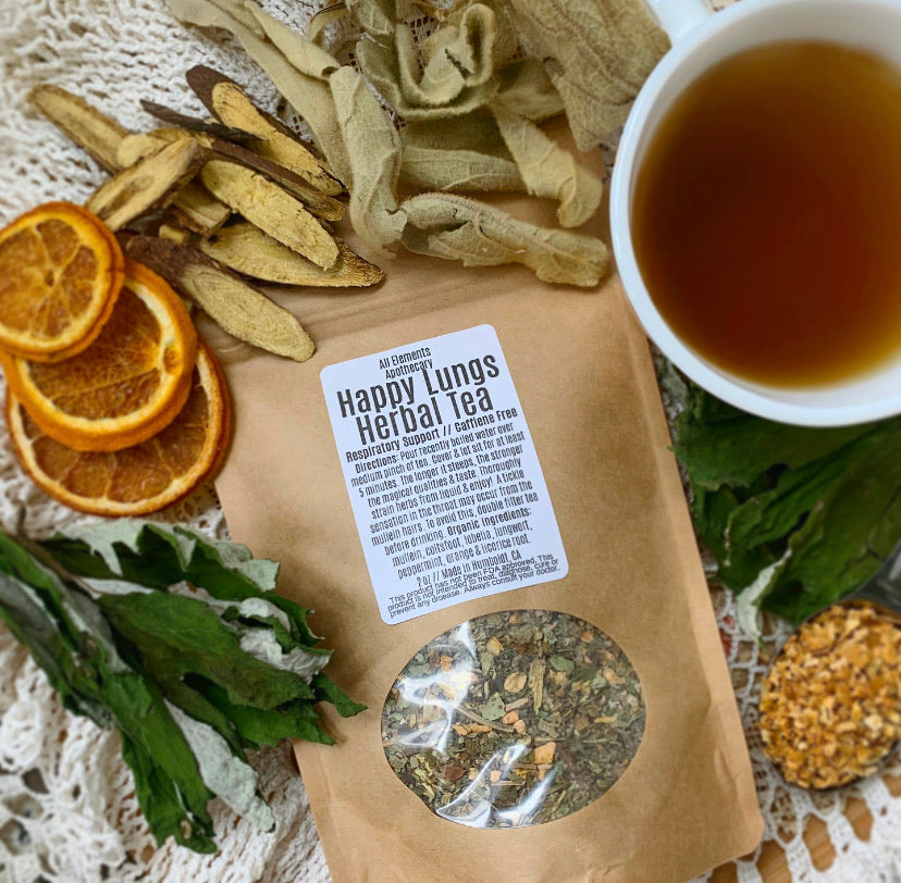 'Happy Lungs' Herbal Tea