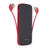 Power Bank with Dual Output 10000mAh (Rubber Housing)