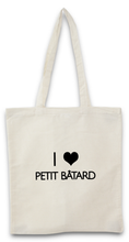 TOTE BAG I LOVE PETIT BÂTARD