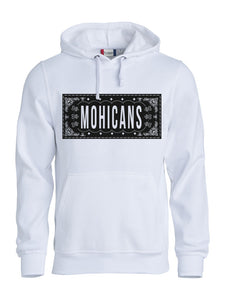 "HOODIE ""MOHICANS"" BANDANA EFFECT BY KEVON"