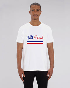 "T-SHIRT BIO H. ""PETIT BÂTARD SIGNATURE FRANCE"""