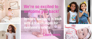 We're back and excited to help you safely shop!