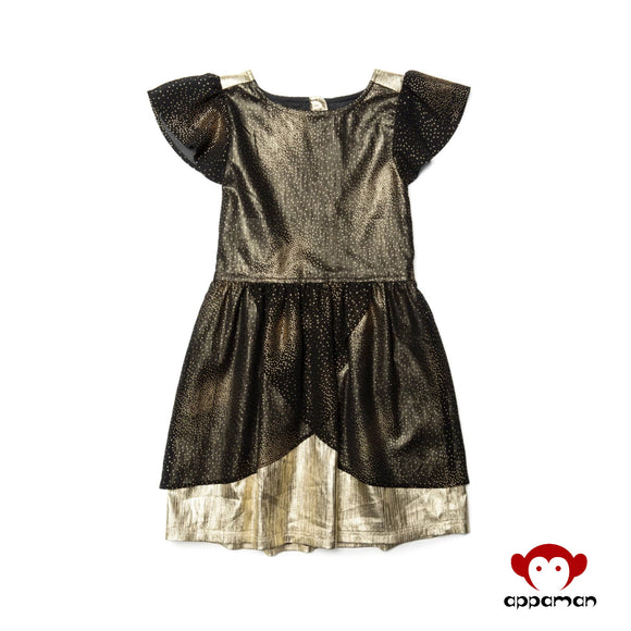 Gold Dust Nylah Dress
