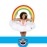 Happy Rainbow Cloud Pool Float