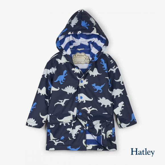 Dino Herd Colour Changing Raincoat