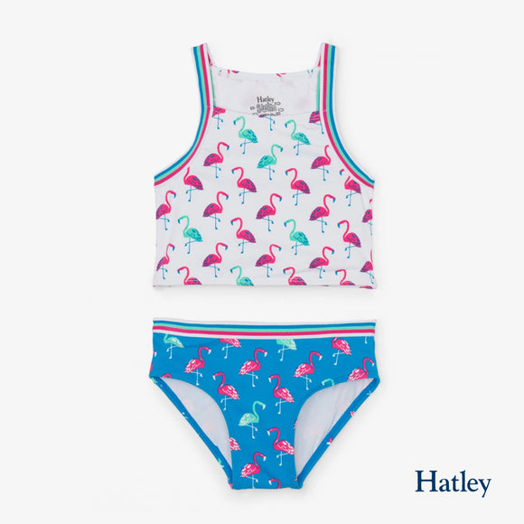 Fancy Flamingos Tankini Set