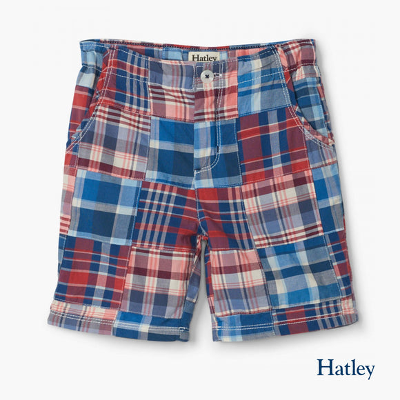 Madras Plaid Shorts
